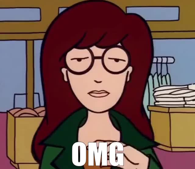 Watch and share Daria - OMG GIFs by GIF Generator on Gfycat