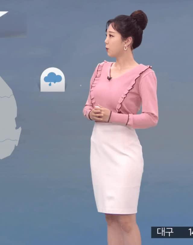 Watch and share 오늘 아침자 MBC 김가영 기상캐스터.GIF GIFs on Gfycat