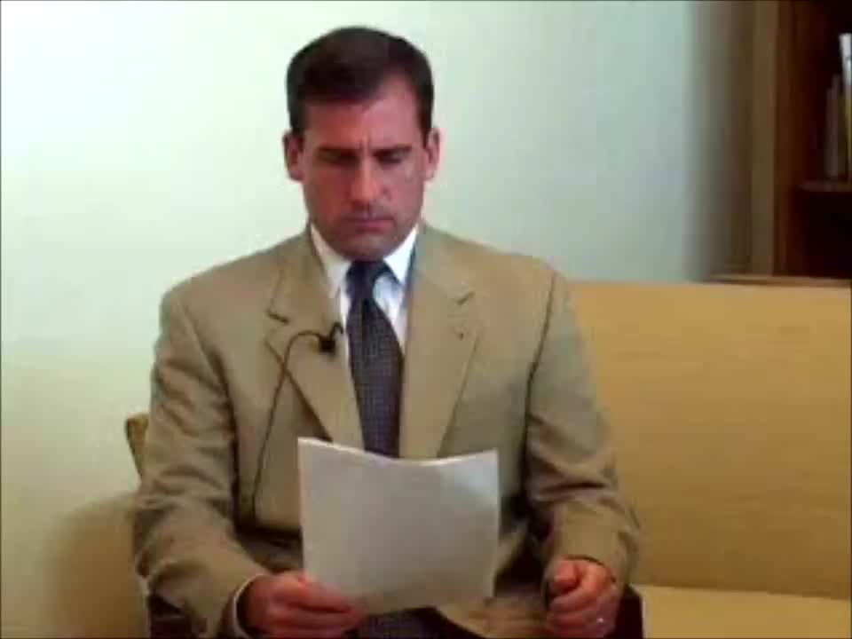 acting, actor, anchorman, audition, brick tamland, casting, steve carell, Steve Carell Audition Tape - Anchorman GIFs
