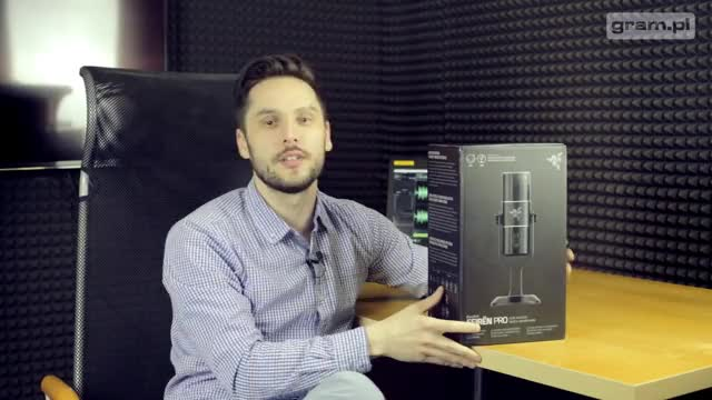 Watch Test i unboxing mikrofonu Razer Seiren Pro - gram.pl GIF by @wickedselecta on Gfycat. Discover more razer seiren pro, test razer, test seiren pro gram.pl tag GIFs on Gfycat