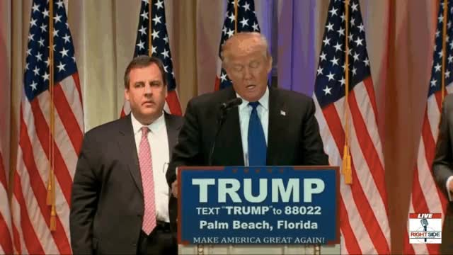 Watch and share Chris Christie GIFs and Donald Trump GIFs on Gfycat