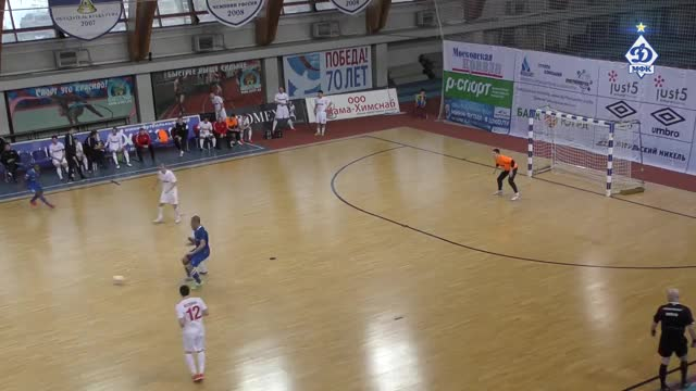 DYNAMO vs KPRF. Futsal.Russian Superleague. 28/02/2016