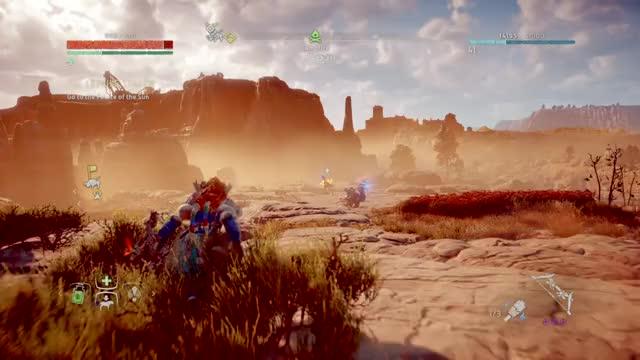 Watch and share Horizon Zero Dawn Shadow War Bow GIFs on Gfycat