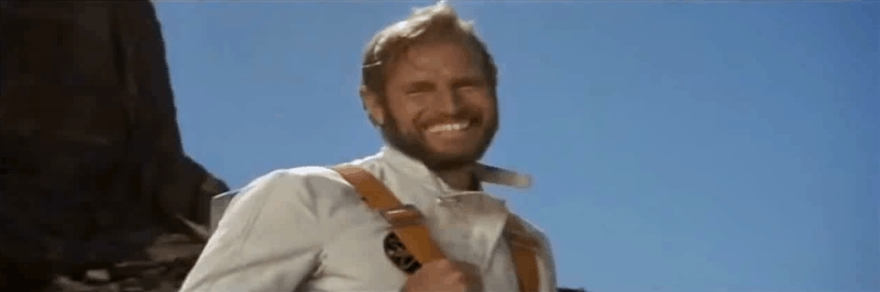 reactiongifs, wtf, charlton heston laughing GIFs