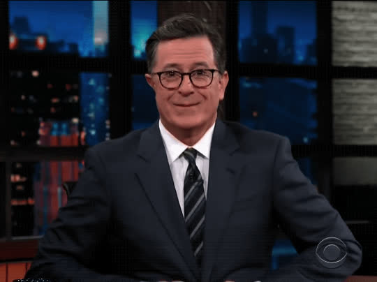 flirt, hey girl, oh hello, sexy, stephen colbert, the late show, Stephen Colbert Flirt GIFs