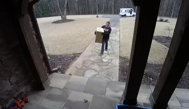 Watch and share USPS Package Delivery GIFs on Gfycat
