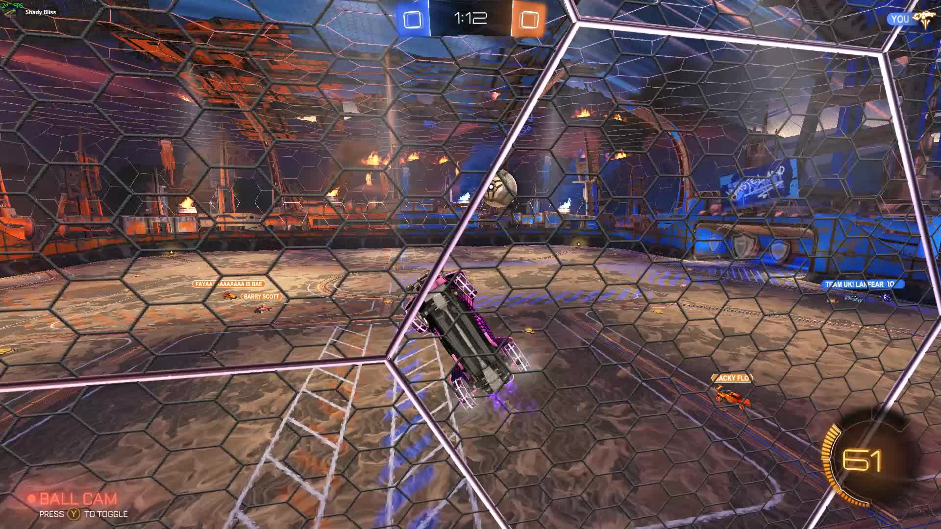 RocketLeague, Nice Redirect Angle. GIFs