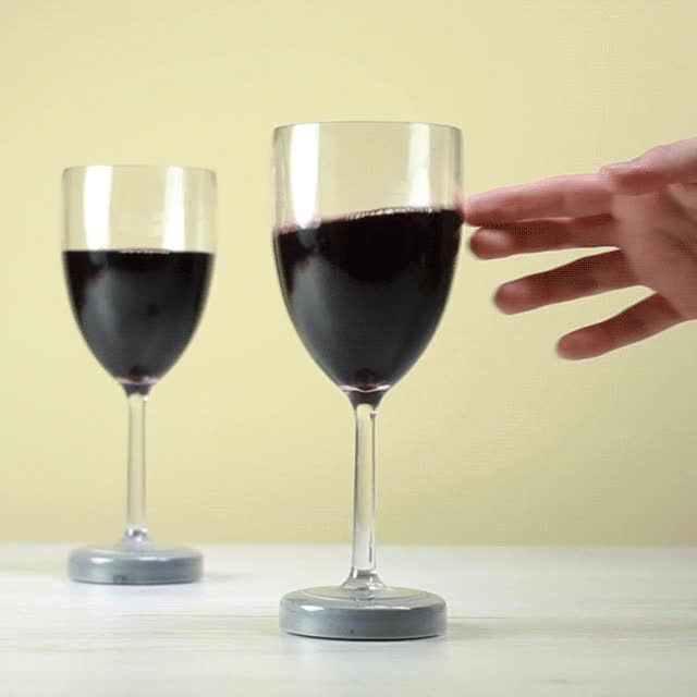 Watch and share Mighty Wine Glasses | FIREBOX GIFs on Gfycat