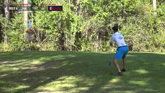 Watch MPO Finals 2018 DGPT Championship - F9 | Ricky Wysocki hole 6 putt GIF by Benn Wineka UWDG (@bennwineka) on Gfycat. Discover more aj risley, chris dickerson, dgpt, disc golf, disc golf pro tour, nate sexton, nikko, nikko locastro, ob wall, railroad tie GIFs on Gfycat
