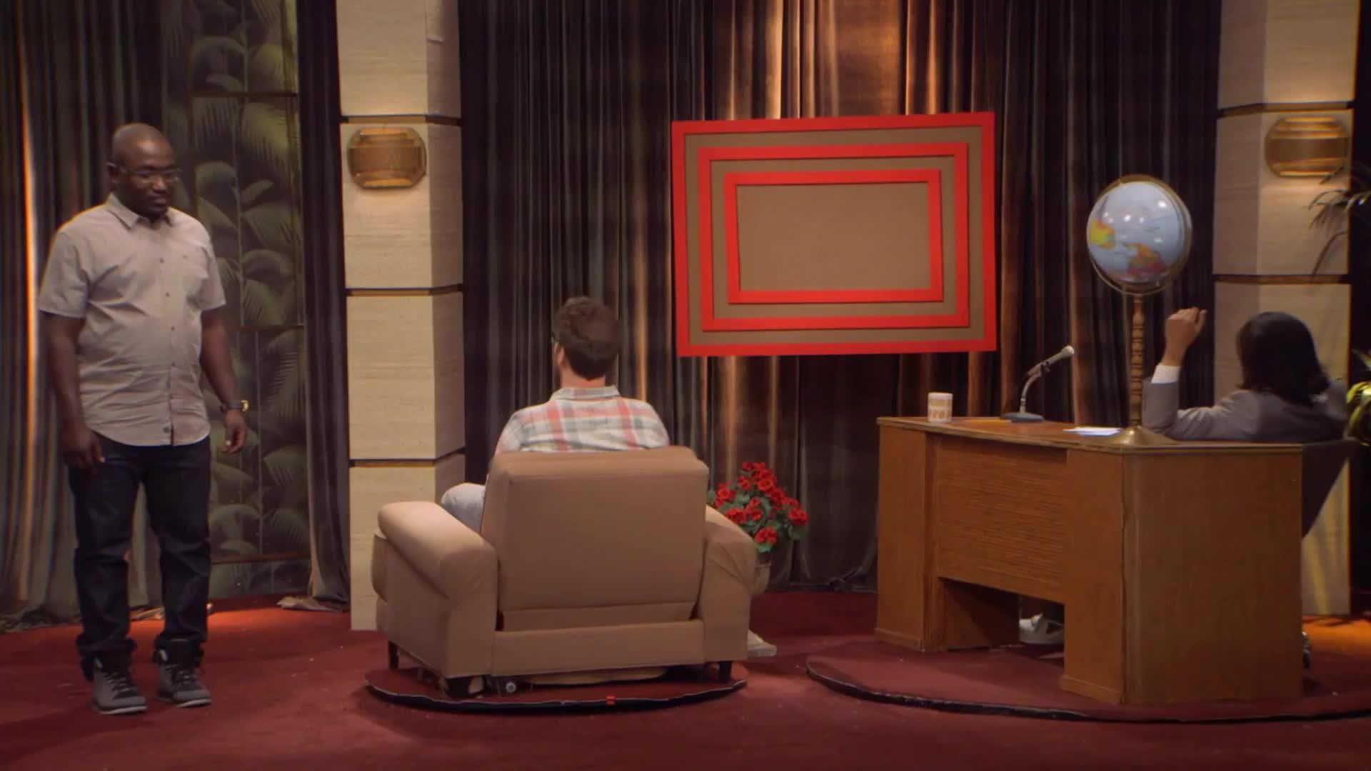 Hannibal Buress, TheEricAndreShow, theericandreshow, Ballas GIFs