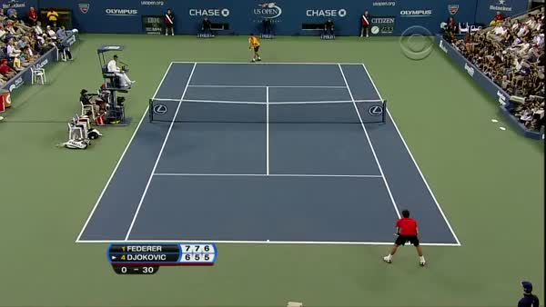 Watch and share Le Tweener Contre Djokovic GIFs by athomas on Gfycat