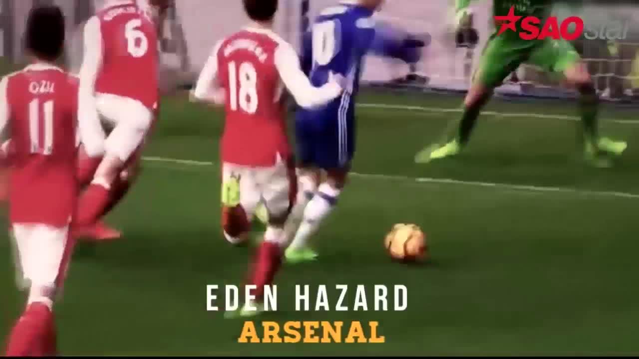 Nhìn lại 10 bàn thắng đẹp nhất giải Ngoại hạng Anh mùa 2016/17