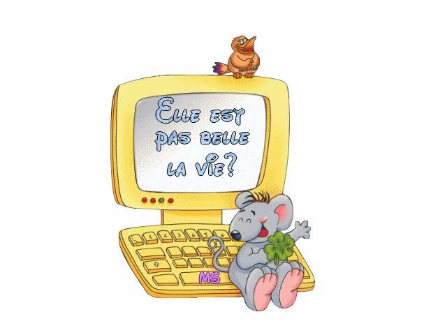 Watch and share Elle Est Pas Belle La Vie? GIFs on Gfycat