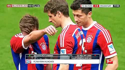 Watch and share Robert Lewandowski GIFs and Fc Bayern Munchen GIFs on Gfycat