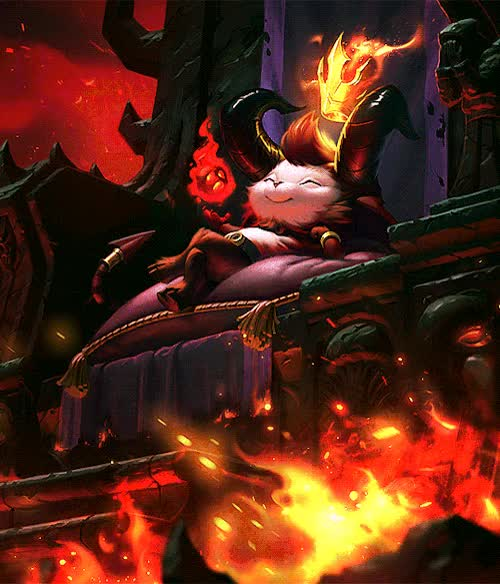 """Watch and share """"Lil' Devil Teemo GIFs on Gfycat"""