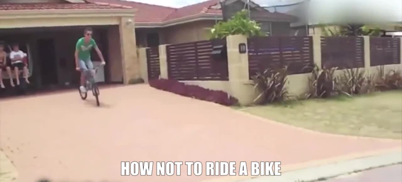 therewasanattempt, HOW NOT TO RIDE A BIKE GIFs