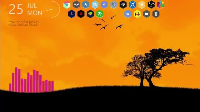 Watch and share Rainmeter GIFs by calvin_ing on Gfycat