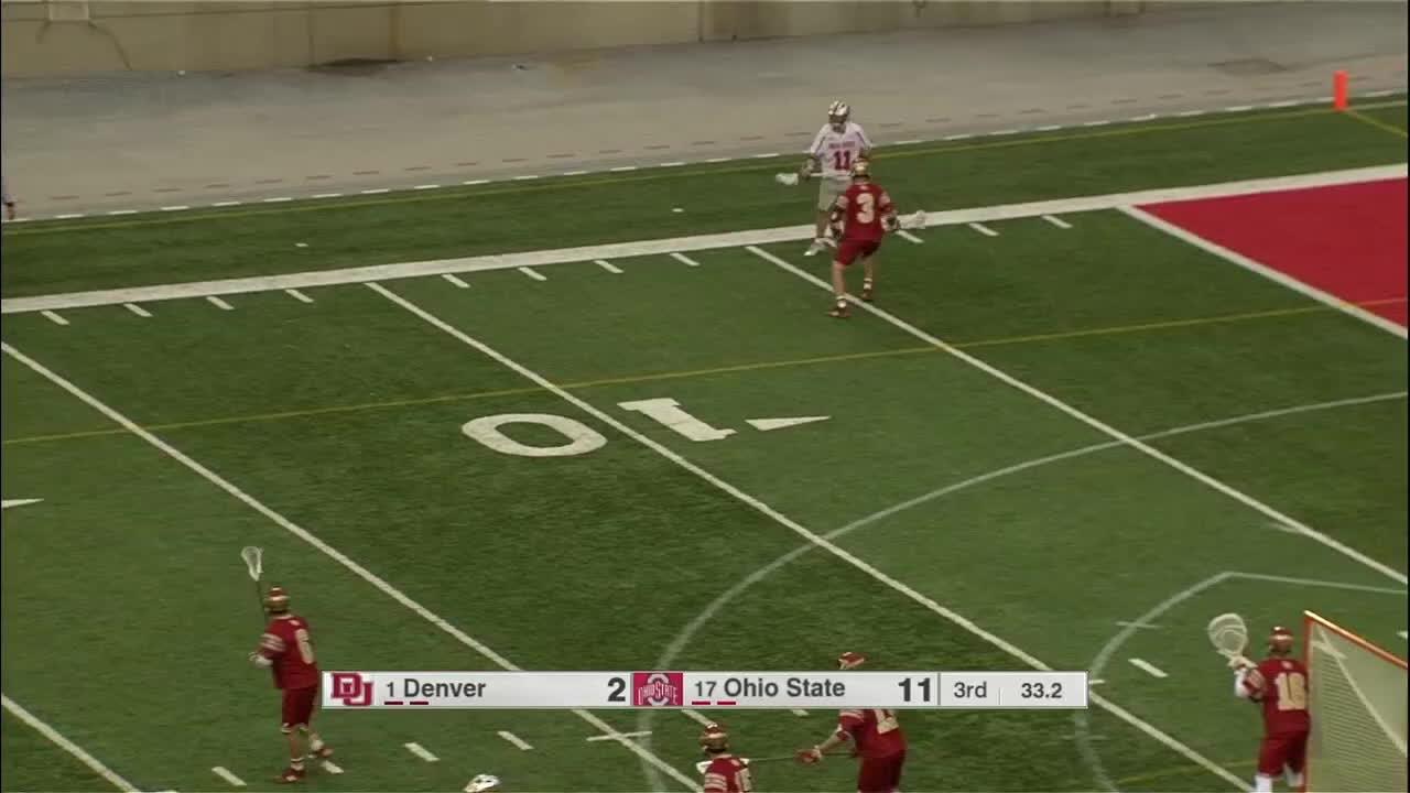 lacrosse, Ohio State's Austin Shanks GIFs