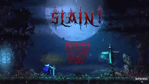 Slain! Title Screen