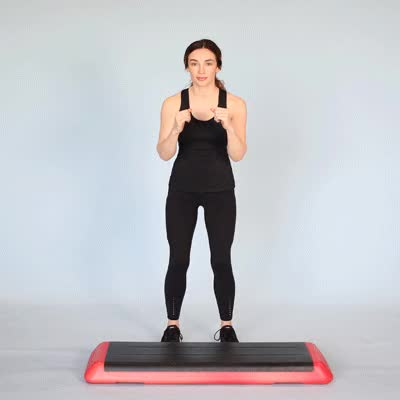 Watch and share 400X400 Step Aerobics Basic Left GIFs by Healthline on Gfycat