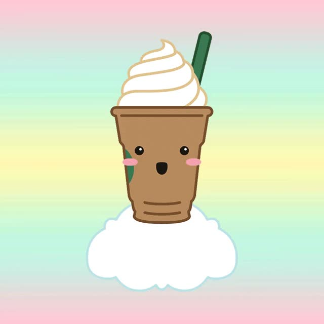 Watch starbucks, coffee, animate, animated, cartoon GIF on Gfycat. Discover more related GIFs on Gfycat