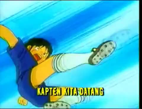 Watch Captain Tsubasa (1983) - Opening Song Indonesia GIF on Gfycat. Discover more related GIFs on Gfycat