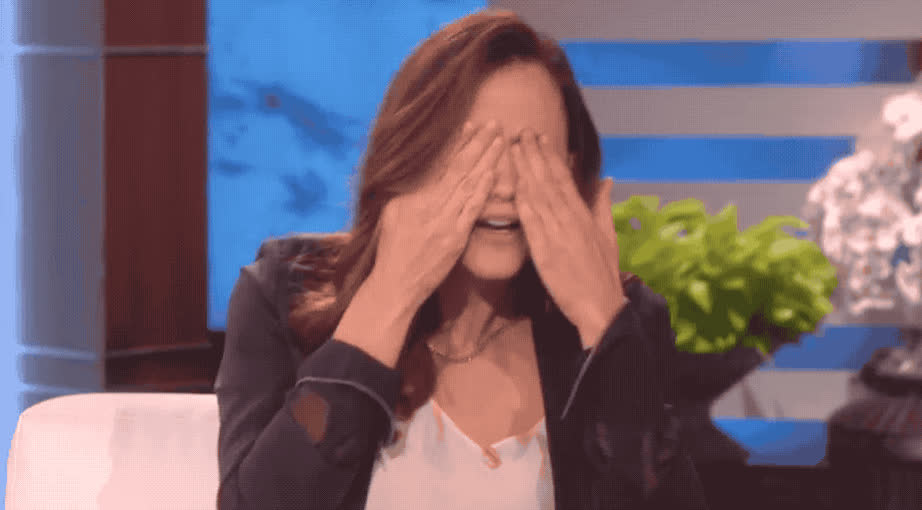 blush, blushing, elle, embarrassing, embarressed, face, garner, god, jennifer, meme, my, no, oh, oh no, omg, oscar, show, Jennifer Garner - OMG GIFs
