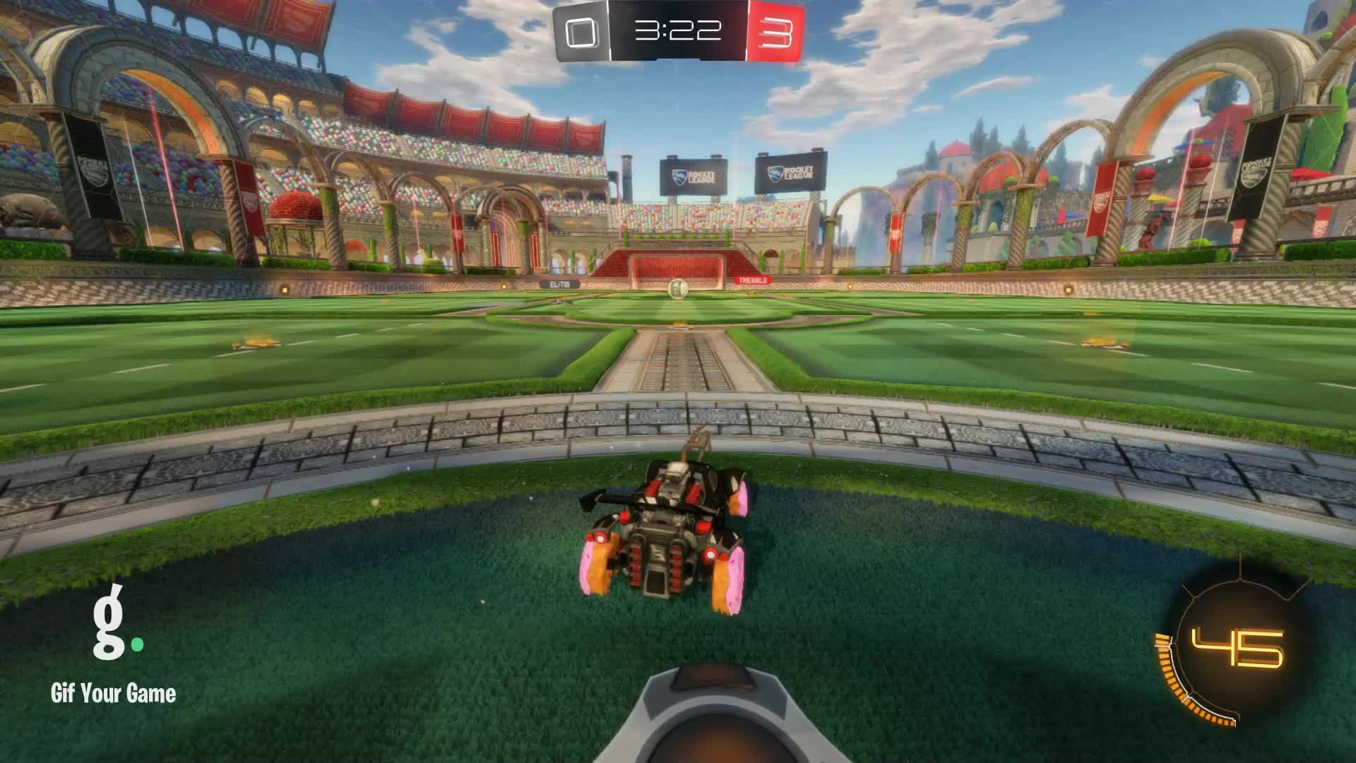 Assist, CROSSFIT JESUS, Gif Your Game, GifYourGame, Rocket League, RocketLeague, Assist 3: CROSSFIT JESUS GIFs