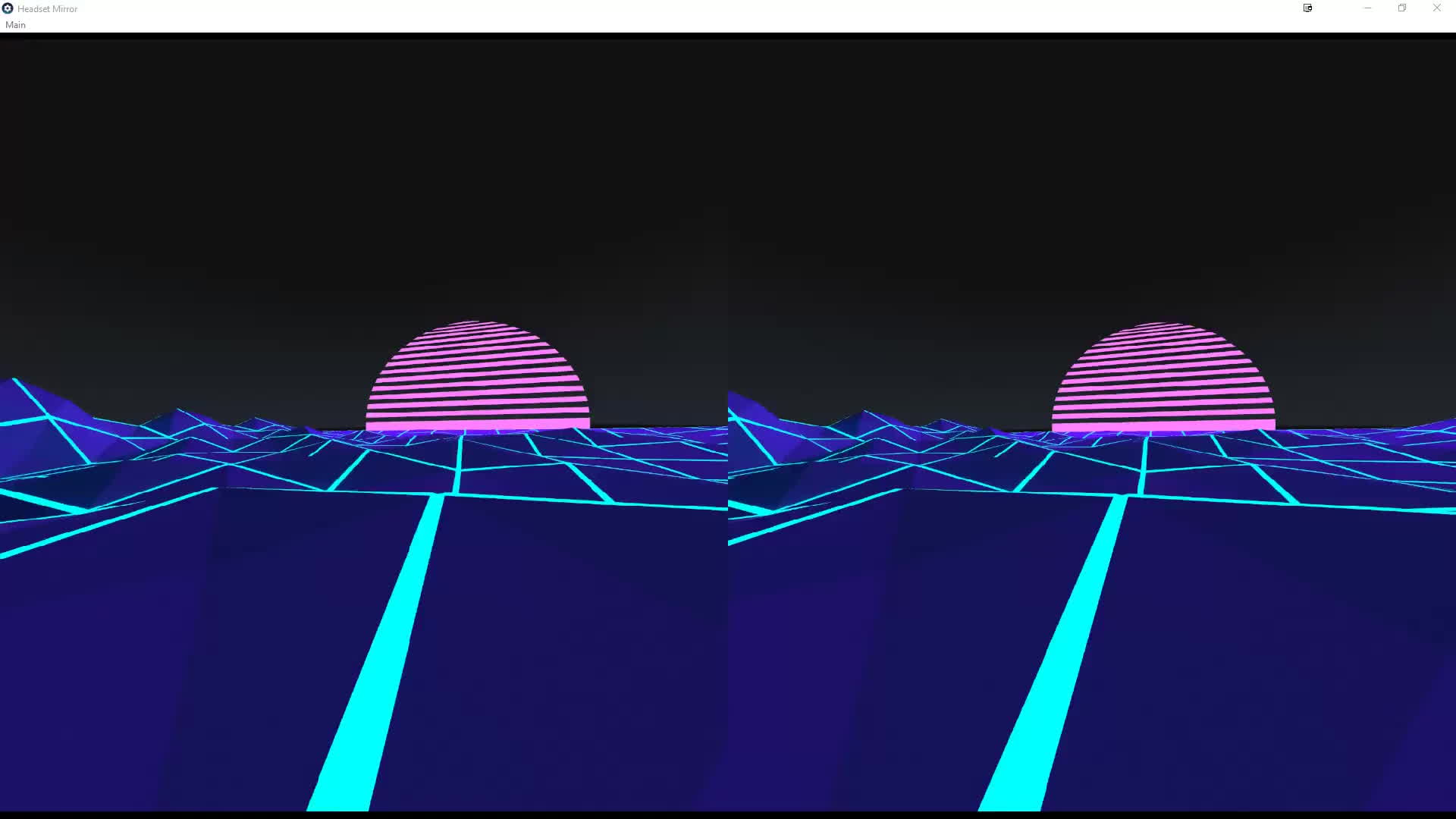 steamvr, Vaporwave custom SteamVR environment GIFs