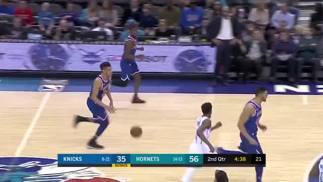 Watch and share Charlotte Hornets GIFs and New York Knicks GIFs by skdro20 on Gfycat