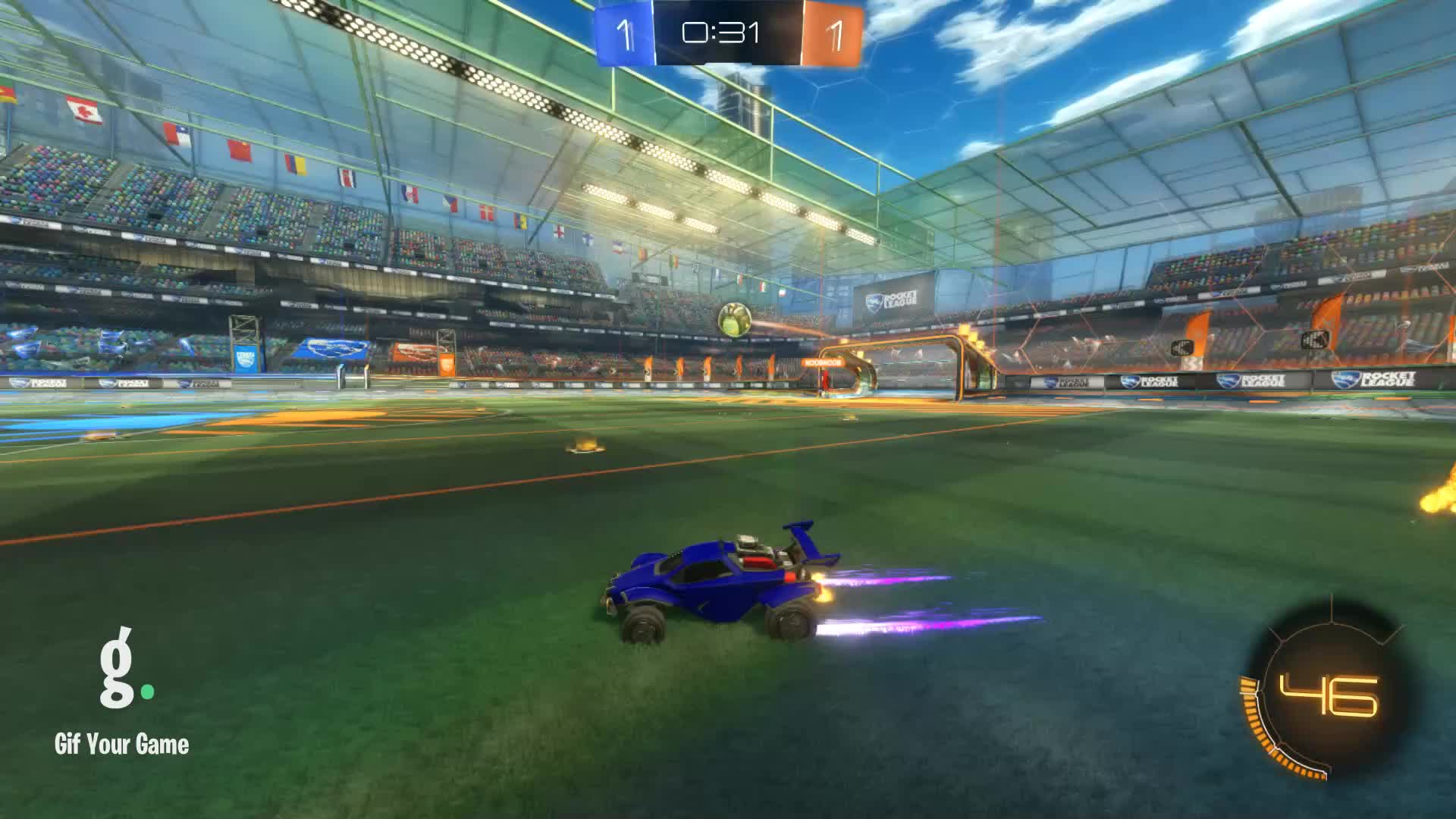 Gif Your Game, GifYourGame, Goal, Rocket League, RocketLeague, zfractor ツ, Goal 3: zfractor ツ GIFs