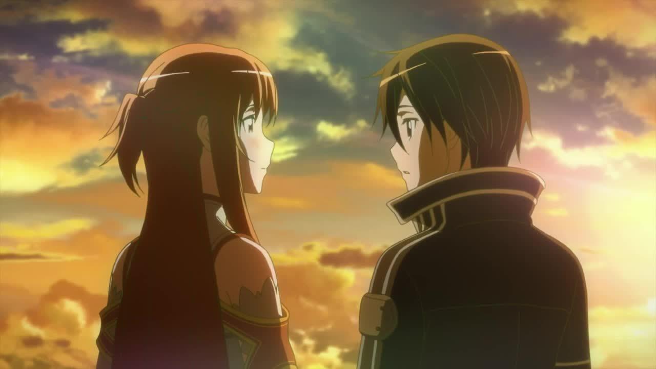 kiritoxasuna, sao, swordartonline, Thank you, I love you. GIFs