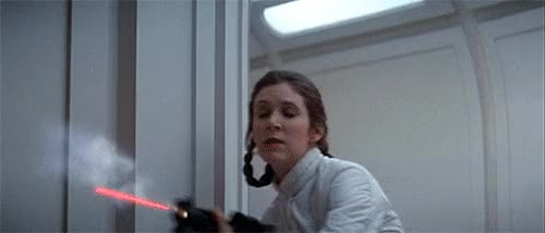 Watch this princess leia GIF on Gfycat. Discover more princess leia, shooting GIFs on Gfycat