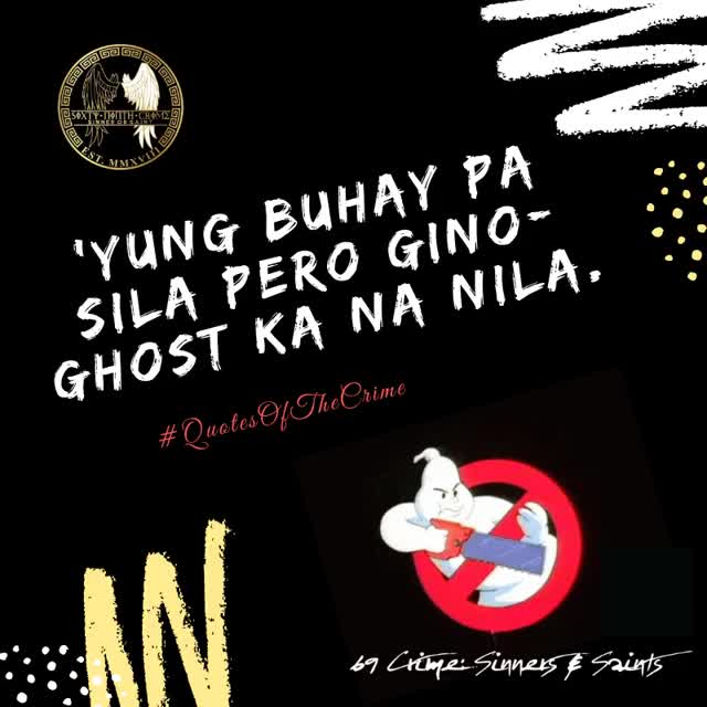 Watch and share 'Yung Buhay Pa Sila Pero Gino-ghost Ka Na GIFs on Gfycat