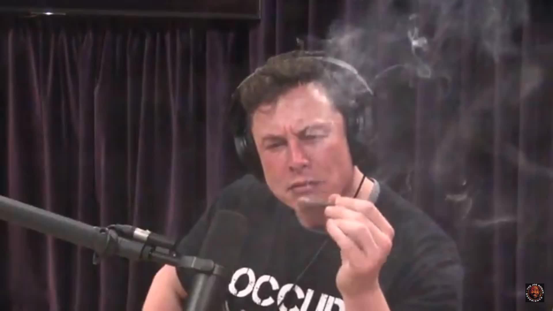 Elon musk smoking, Elon smoking, Elon smoking cigar, Joe Rogan podcast,, Tesla weed, weed, Danklon Musk GIFs