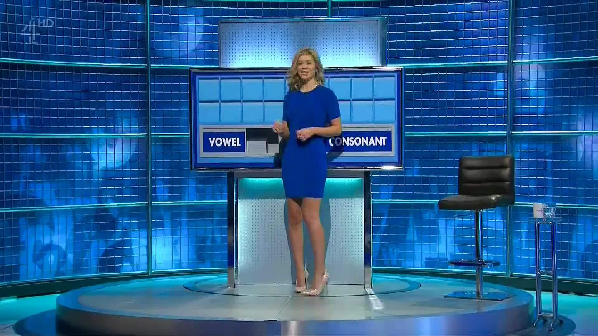rachel riley, rachelriley, tight dress, Rachel Riley - Lovely Blue Dress GIFs