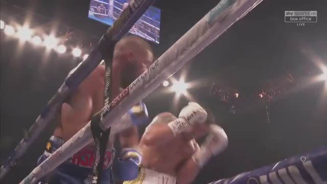 Watch Oleksandr Usyk finishes off a brave Tony Bellew with a left hand, allowing him to retain his undisputed title. GIF on Gfycat. Discover more related GIFs on Gfycat