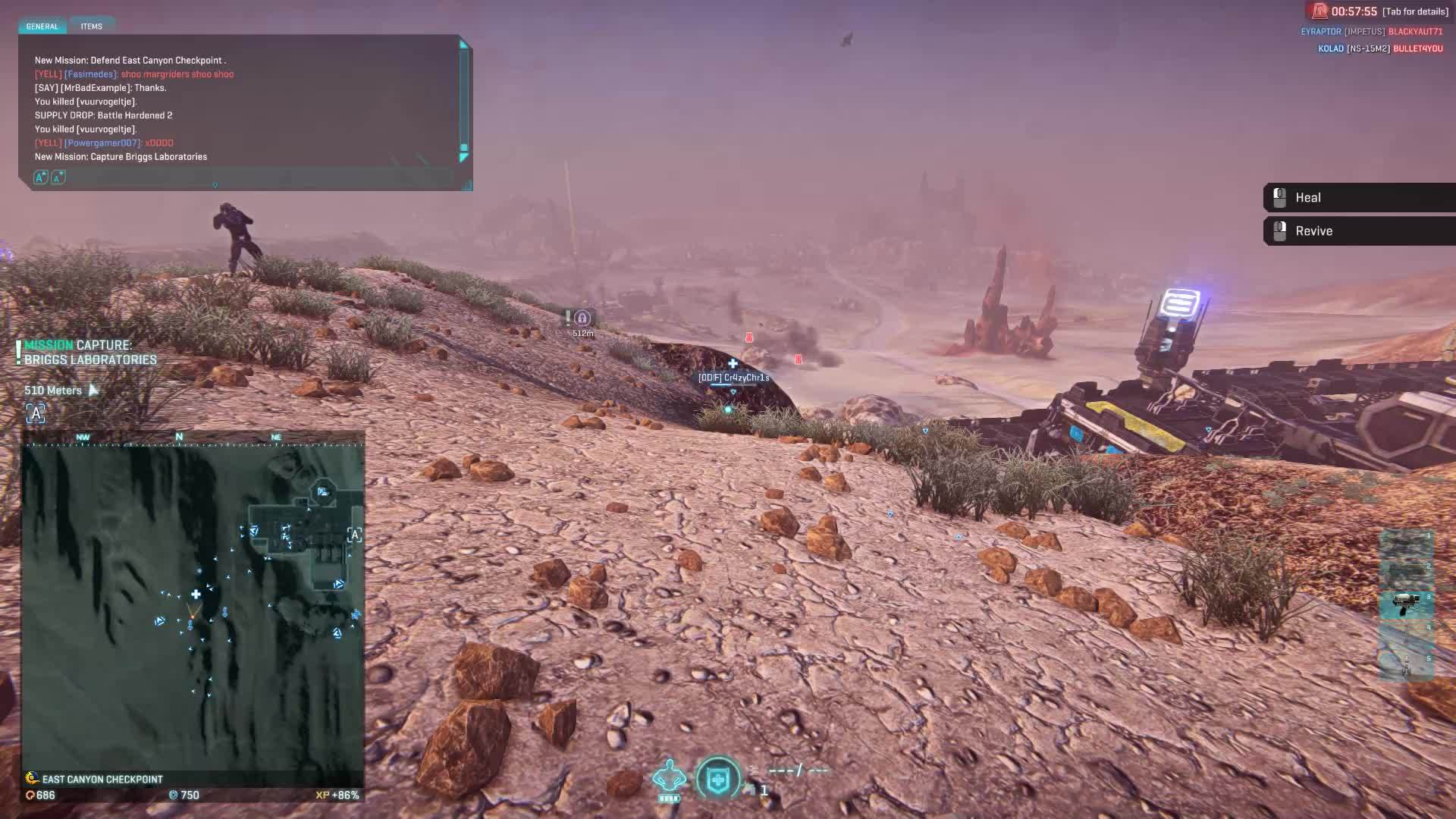 gaming, planetside 2, ps4planetside2, Nice throw... GIFs