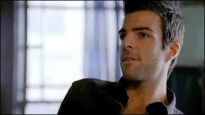 Watch and share Zachary Quinto GIFs by Reactions on Gfycat
