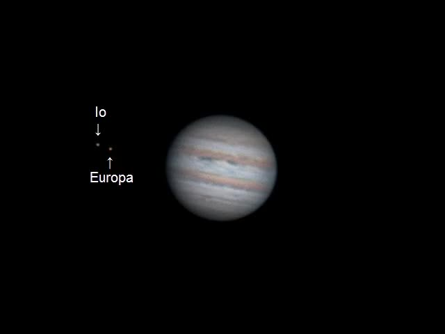 Watch and share Jupiter In Timelapse - 2 Hours Of Rotation (reddit) GIFs on Gfycat