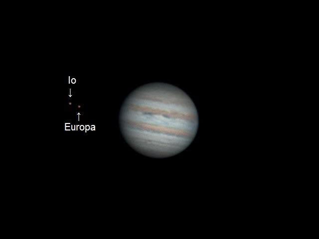 astrophotography, Jupiter in timelapse - 2 hours of rotation (reddit) GIFs