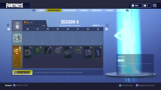 watch all skins and items season 4 battle pass 100 tier fortnite battle royale gif on - fortnite battle pass skins season 1