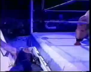 Watch and share Undertaker Sitting Up Out Of Casket GIFs on Gfycat