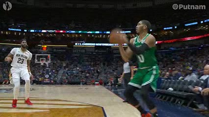 Watch Jayson Tatum — Boston Celtics GIF by off-hand on Gfycat. Discover more 112618 GIFs on Gfycat