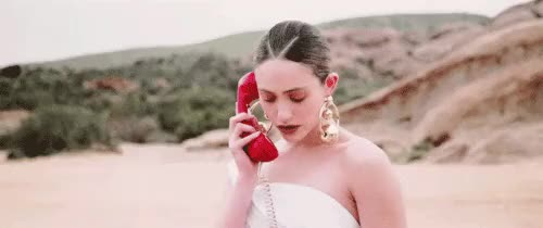 Watch and share Emmy Rossum GIFs and Telephone GIFs on Gfycat