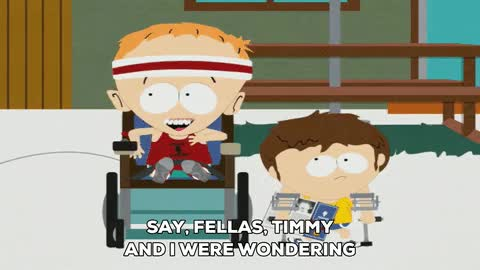 Watch and share Timmy South Park GIFs on Gfycat