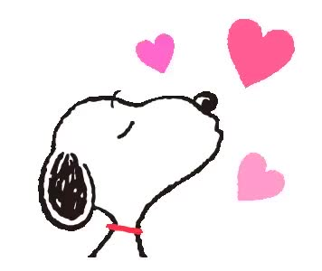 Watch and share Snoopy Kiss GIF - Snoopy Kiss Heart - Discover & Share GIFs GIFs on Gfycat