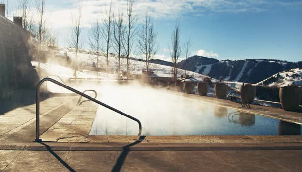 Watch and share Outdoor Swimming Pool Steam Gif GIFs on Gfycat