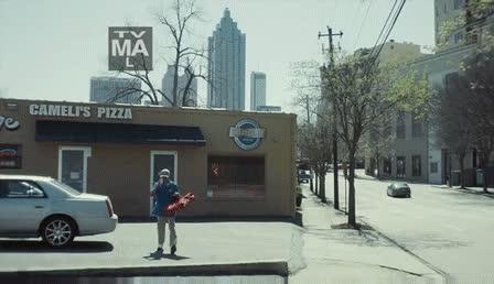 AtlantaTV, NLSSCircleJerk, In episode 4, Al knocks Zan's hat off and Zan has a backup hat in his pocket (reddit) GIFs