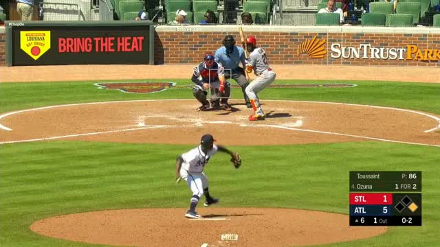 Watch and share Touki Toussaint GIFs and Baseball GIFs by Pitcher Giffer on Gfycat